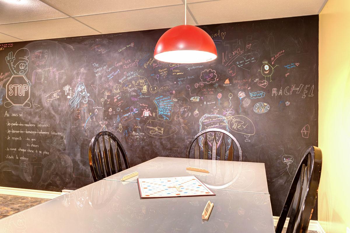 salle familiale plante – perspective design